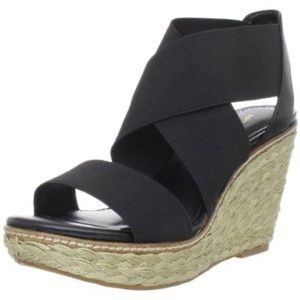 """Arturo Chiang """"Coleen"""" Stretch Espadrille Wedges"""
